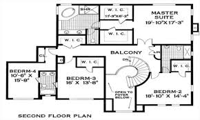 Spanish Colonial House Plans One Level Spanish Colonial House