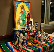 the maneater – images for  quot photo essay  day of the dead quot a remembrance shrine sits on display during the dia de los muertos celebration sunday  traditionally  those celebrating the holiday  which remembers the