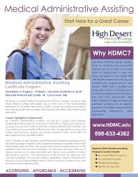 medical administrative assisting high desert medical college get to know the maa program
