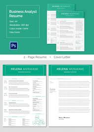 business analyst resume word excel pdf high quality business analyst resume cover letter template