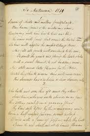 best ideas about john keats john keats poems manuscript of to autumn by john keats the british library shop