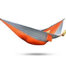 2 Person Hammock Assorted Color Parachute Nylon Fabric Sale ...