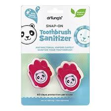 DrTung's <b>Kids Snap-On Toothbrush Sanitizer</b> - Accessories