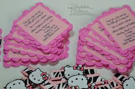 birthday jingvitations hello kitty zebra pink birthday invitations