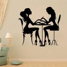 <b>Лак для ногтей</b> Красота салон винил, съемная Наклейка на стену ...