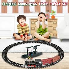 <b>Christmas</b> Light Sound Track Small <b>Train Electric</b> Retro <b>Simulation</b> ...