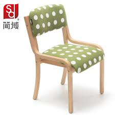 solid wood dining chair office chair simple curved wooden hotel bar coffee chair heigh quality level birch office furniture