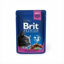 <b>Brit Premium</b> Chicken & <b>Turkey</b> 100г