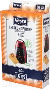 <b>Vesta LG</b> 05 <b>Комплект пылесборников</b> для пылесоса купить в ...