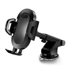 S113 Long Rod <b>Auto</b> Lock <b>Car Phone</b> Holder Telescopic Suction ...
