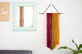 project home decor string wall art
