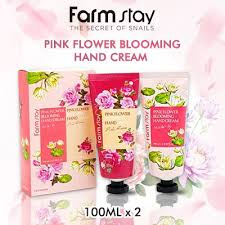 [<b>Farm stay</b>] <b>Pink Flower Blooming</b> Hand Cream (2 Set Package ...