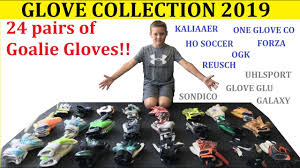 My <b>Goalie Gloves</b> Collection 2019 | 10 Year Old <b>Boy's</b> Goalkeeper ...