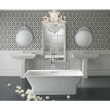 ideas bathroom sinks designer kohler: kohler reve  in ceramic pedestal bathroom sink combo in white