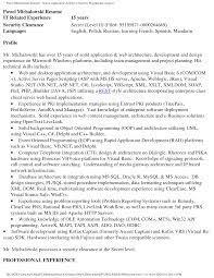 informatica architect resume   sales   architect   lewesmrsenior architect resume sle java resumes