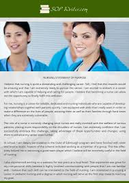 Nursing Statement Of Purpose Writing Service   SoP Writer