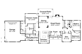 Impressive Atomic Ranch House Plans Atomic Ranch House Floor    ranch style house plan beds baths sq ft plan