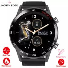NORTH EDGE CITI-<b>T23 Smart Watch</b> For Men Full Touch Screen ...