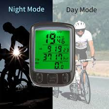 Bicycle Electronics Bike Computer <b>Waterproof Digital LCD</b> Bicycle ...