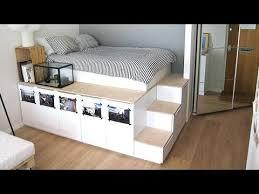 IKEA Hack Platform Bed DIY  S