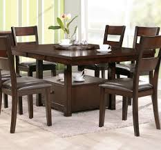 dining room tables chairs square:  what size square dining table seats wood dining room table and chairs brown