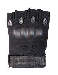 <b>Перчатки тактические без пальцев</b> с защитой