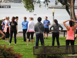 outside a potter barn in cort pottery barn office photo pottery barn photo of weekly bootcamp session at corporate hq