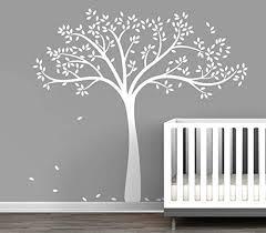 Fall Tree Wall Decal for Baby Nursery Decor - One ... - Amazon.com