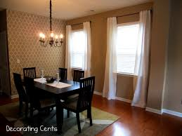 charming dining room curtains home