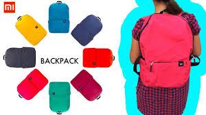 <b>Xiaomi colorful</b> mini <b>backpack</b> 2018 / Новый цветной <b>рюкзак</b> Сяоми