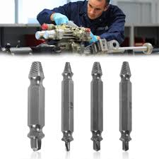 Professional 4pcs/set Broken Screws Extractor Broken Bolt Remover ...