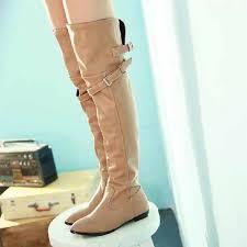 2015 New Fashion Women's High Heeled Shoes Tall Knee Length ...