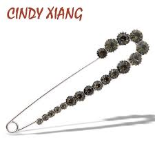 <b>CINDY XIANG New Arrival</b> Large Pearl Pin Brooches for Women ...