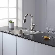 purist kitchen faucet hole sink mixer