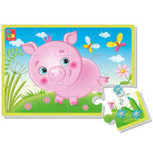<b>Мягкие пазлы Vladi Toys</b> Baby puzzle
