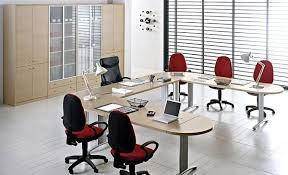 attractive home interior design ideas awesome meeting room design with u shaped light brown tabletop awesome trendy office room space decor magnificent
