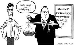 <b>Filial piety</b> does not need a code - Opinion - Chinadaily.com.cn