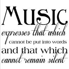 Music Quotes And Sayings. QuotesGram via Relatably.com