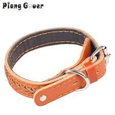 <b>Dog harness</b> Genuine <b>cowhide</b> Leather Small big large <b>pet</b> dog ...