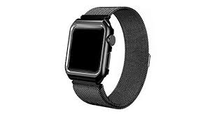 Milanese for apple watch band Series 4 44mm <b>stainless steel strap</b> ...