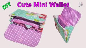 DIY <b>CUTE MINI WALLET</b>   <b>PURSE WALLET</b> TUTORIAL   DIY BAG ...