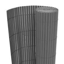 Tidyard <b>Double</b>-<b>Sided Garden Fence PVC</b> Sc- Buy Online in ...