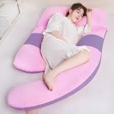Oblong Shaped Lumbar Support <b>Pregnancy Pillow Bedding Full</b> ...