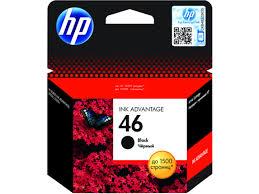 Оригинальный струйный <b>картридж HP 46</b> Advantage, черный ...