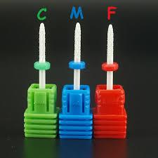 """<b>1pcs 3/32</b>"""" C,M,F Bit nail art salon tools electric drill <b>Ceramic</b> nail file ..."""