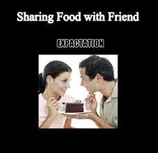 Sharing Food by viriya2 - Meme Center via Relatably.com