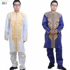 <b>H&D</b> 2018 <b>african</b> men clothes dashiki <b>bazin riche</b> embroidery ...