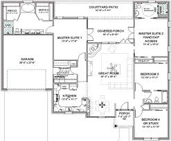 Complete House Plans  sq ft   masters   ADA bath   Masters    house plans   three master suites   Details about Complete House Plans  sq ft