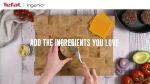 <b>Chef's</b> Burger Recipe | <b>Tefal Ingenio</b> Cookware Range - YouTube