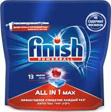"""<b>Таблетки для</b> посудомоечной машины <b>Finish</b> """"<b>All</b> in 1 Max"""", 13 шт ..."""